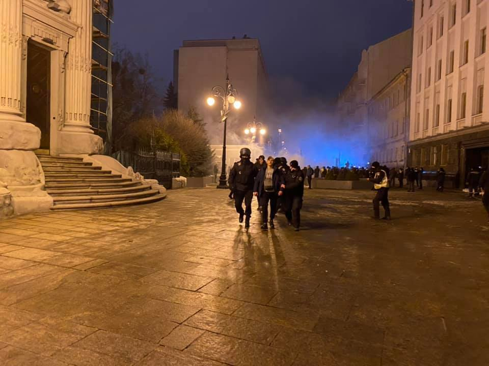 Затримання в Києві