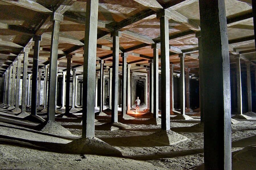 Підземелля Печерська – чотири великих басейни для зберігання прісної води