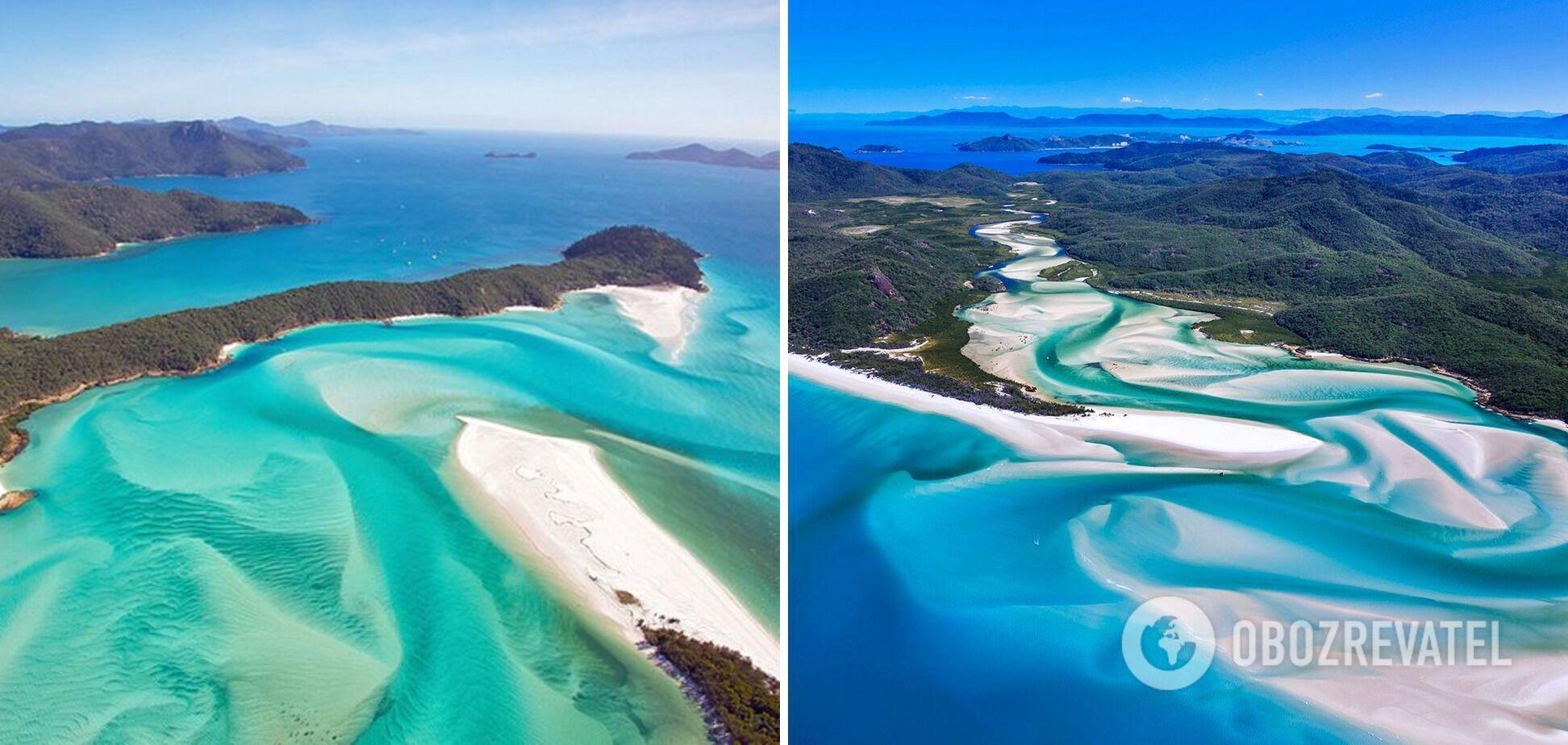 Найкрасивіший пляж у світі знаходяться в Австралії