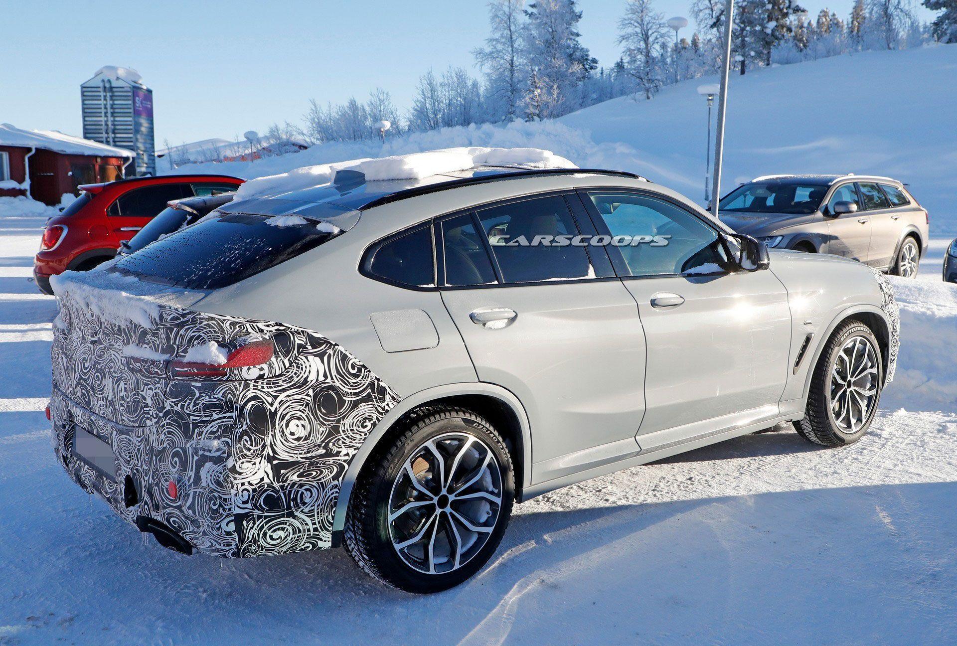 Задня частина BMW X4