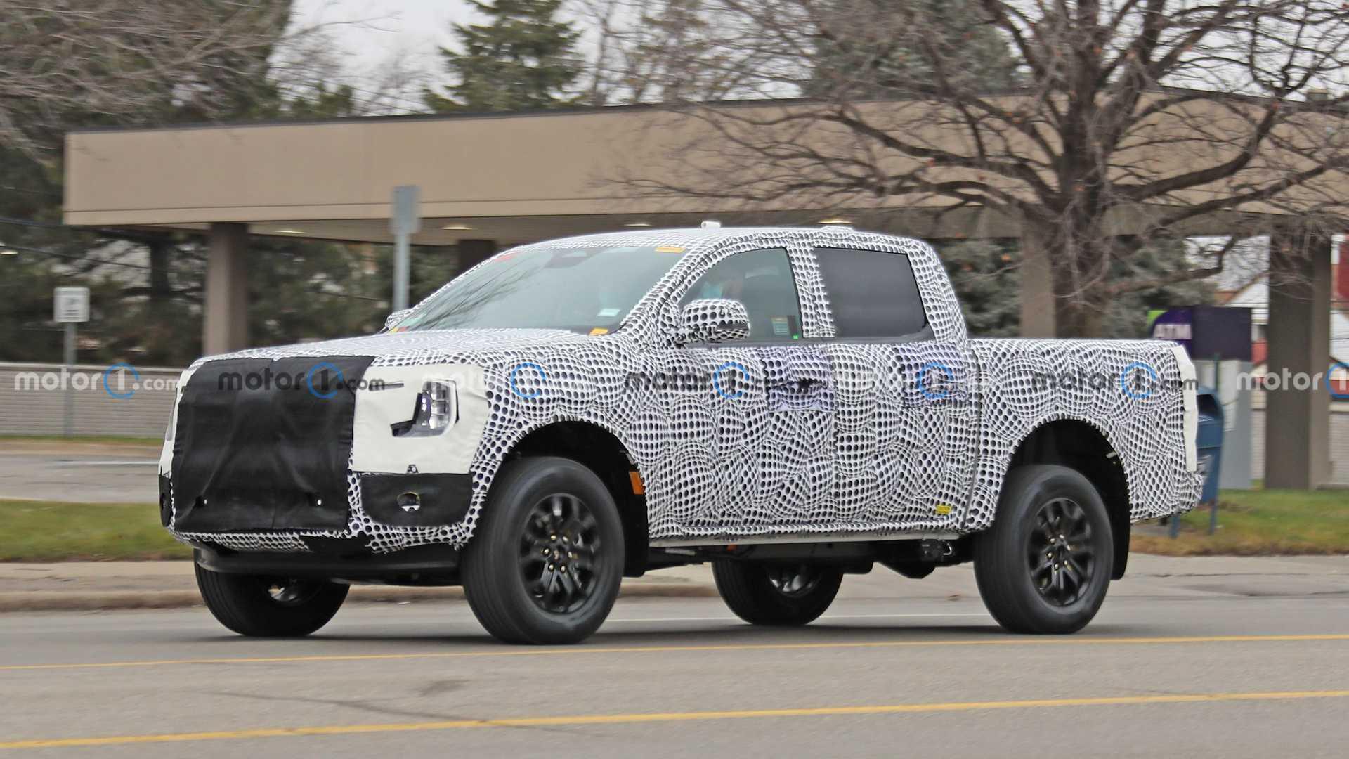 Предполагается, что Ranger получит гибридный силовой агрегат с 2,3-литровым бензиновым турбомотором