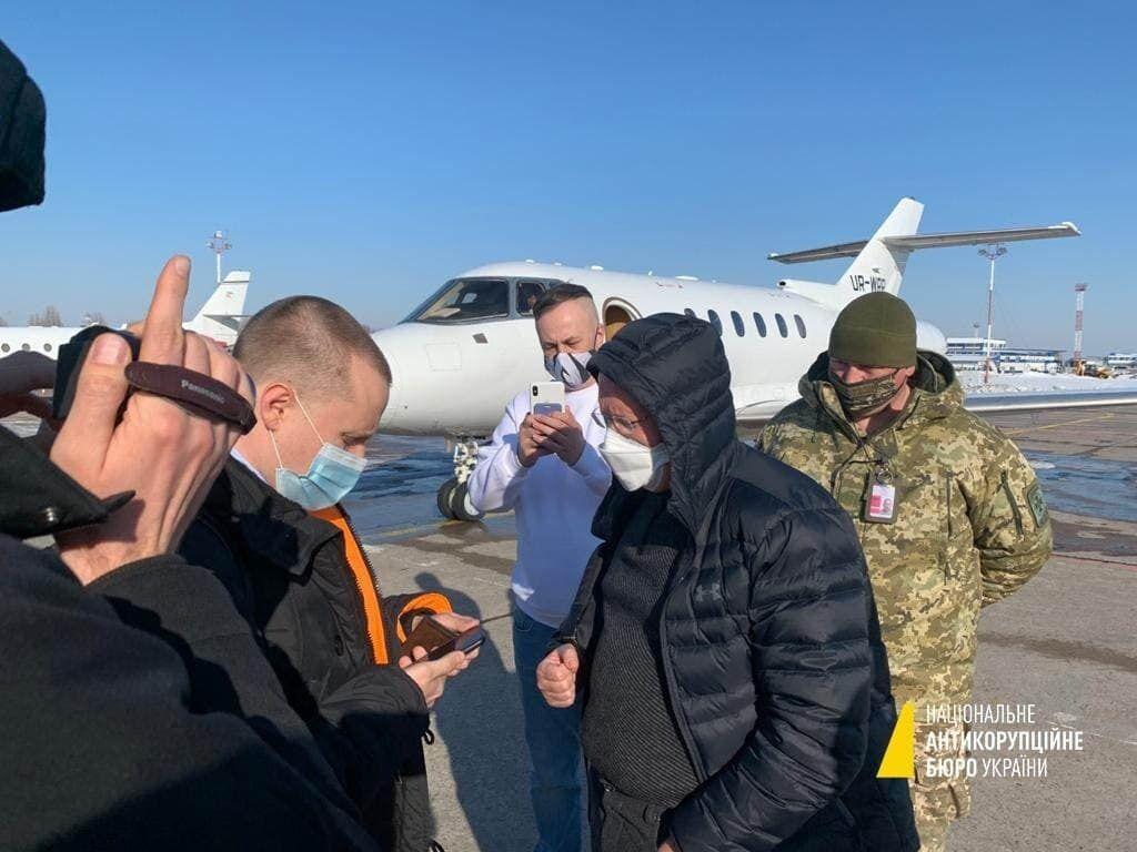 """Задержание Яценко в """"Борисполе"""""""