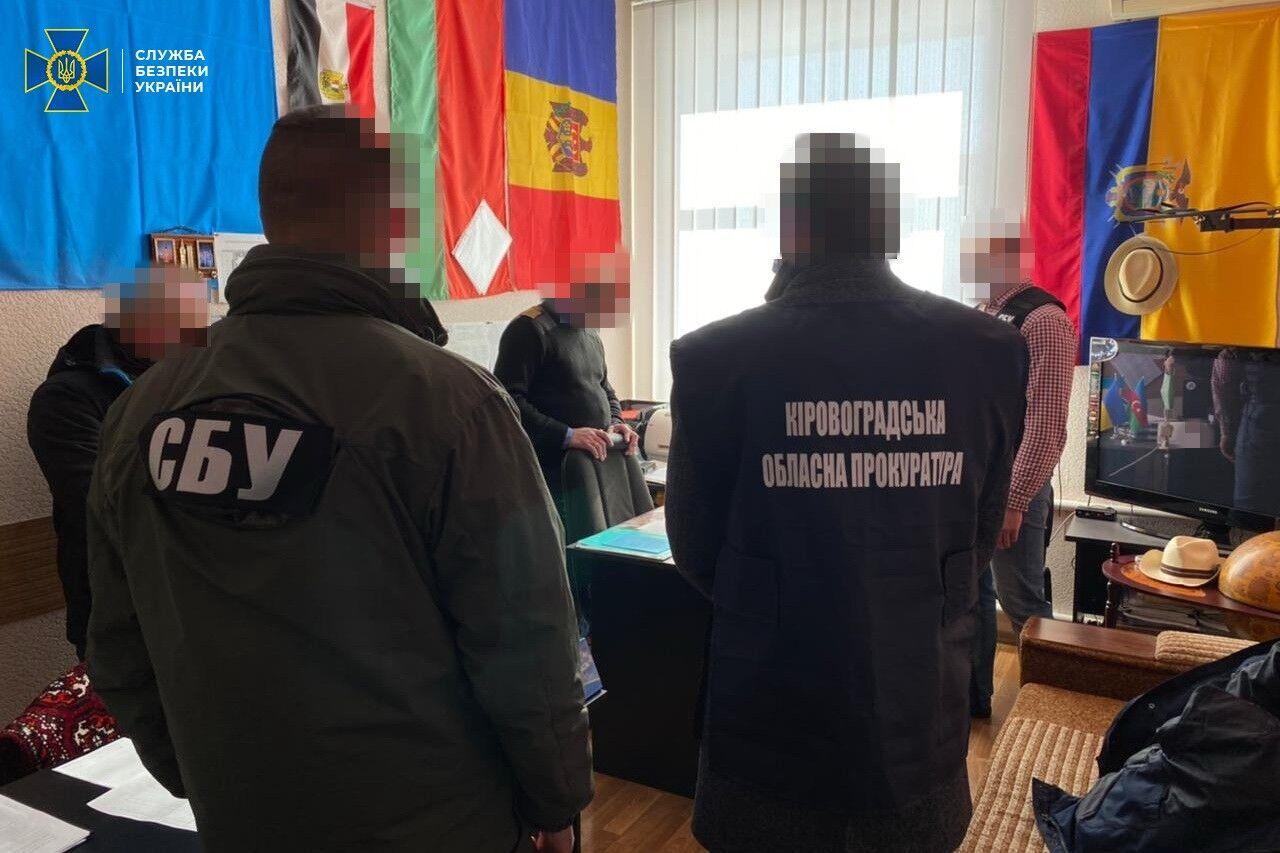 В Кропивницком декана летного вуза поймали на взятках от студентов. Фото
