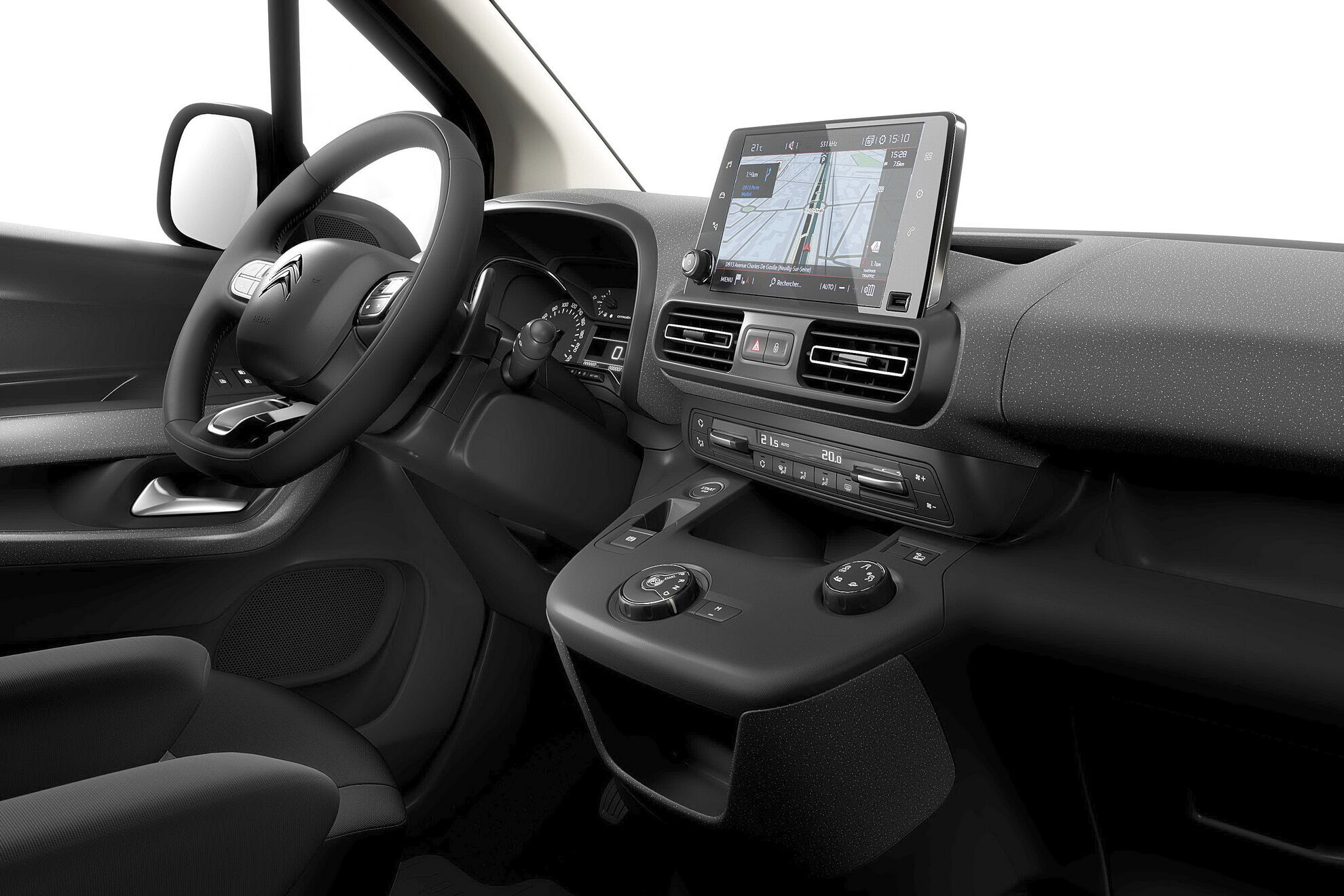 Пасажирський е-Berlingo може запропонувати до 18 корисних систем та технологій, які підвищують безпеку та комфорт поїздок