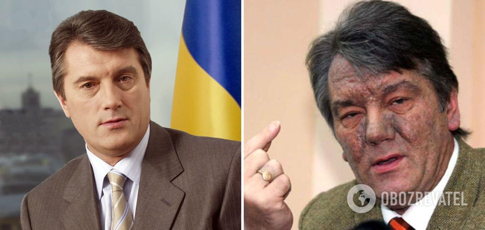 В 2004 году перед выборами Виктора Ющенко отравили.