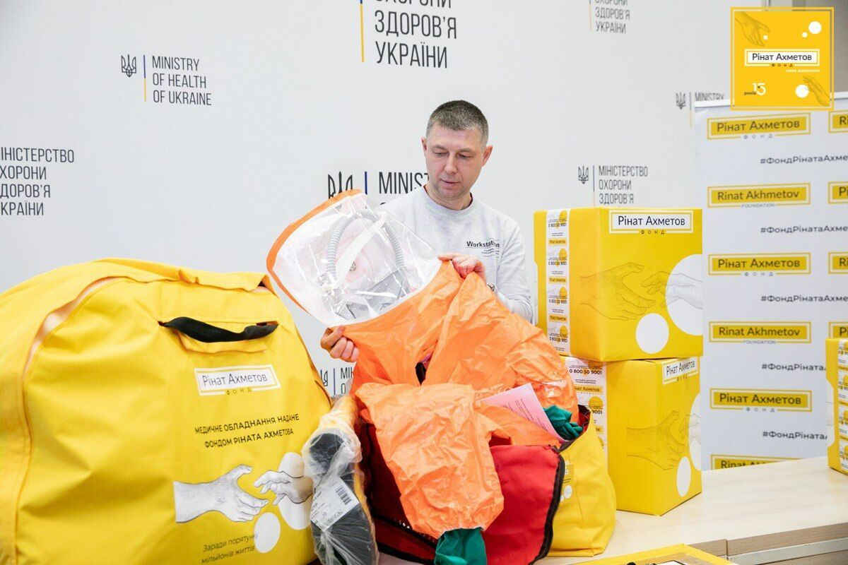 """Проект """"Борьба с COVID-19 в Украине"""" за год работы стал самой масштабной и системной частной инициативой в борьбе с коронавирусом"""