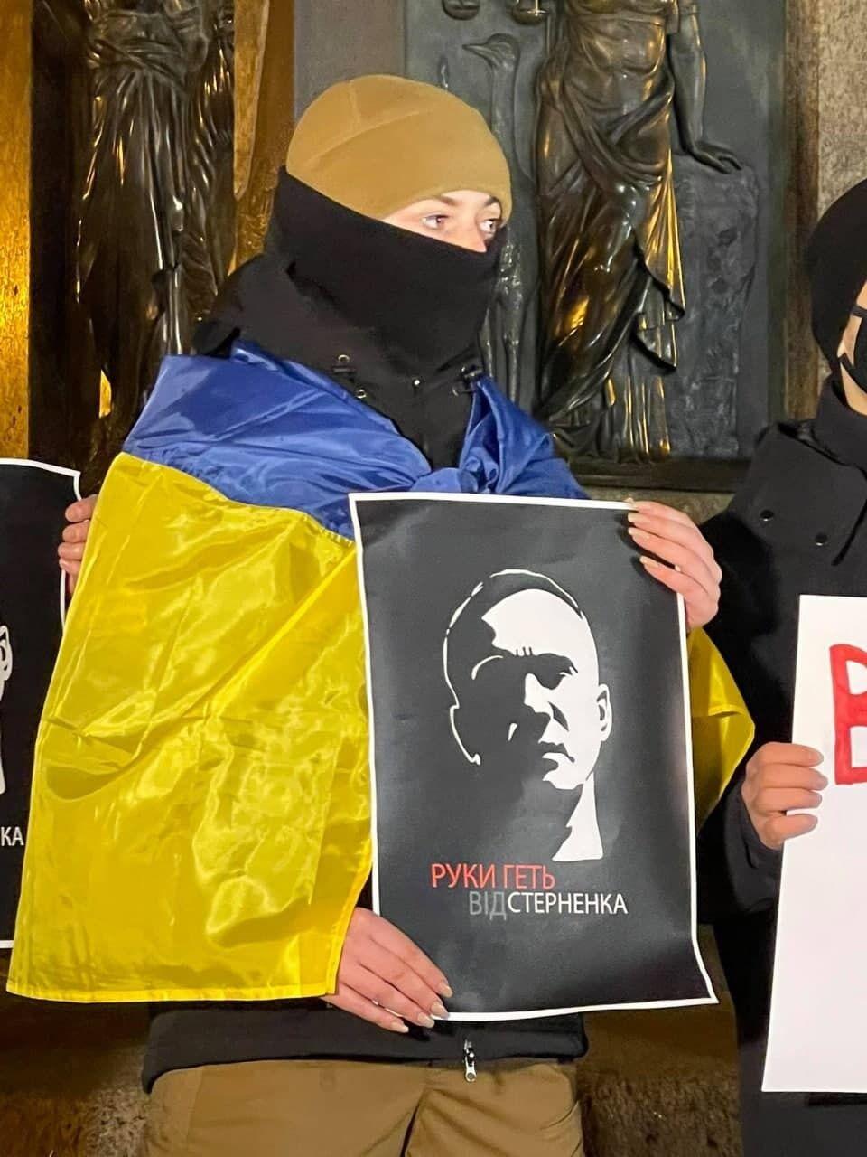 Одесситы поддержали Стерненко.