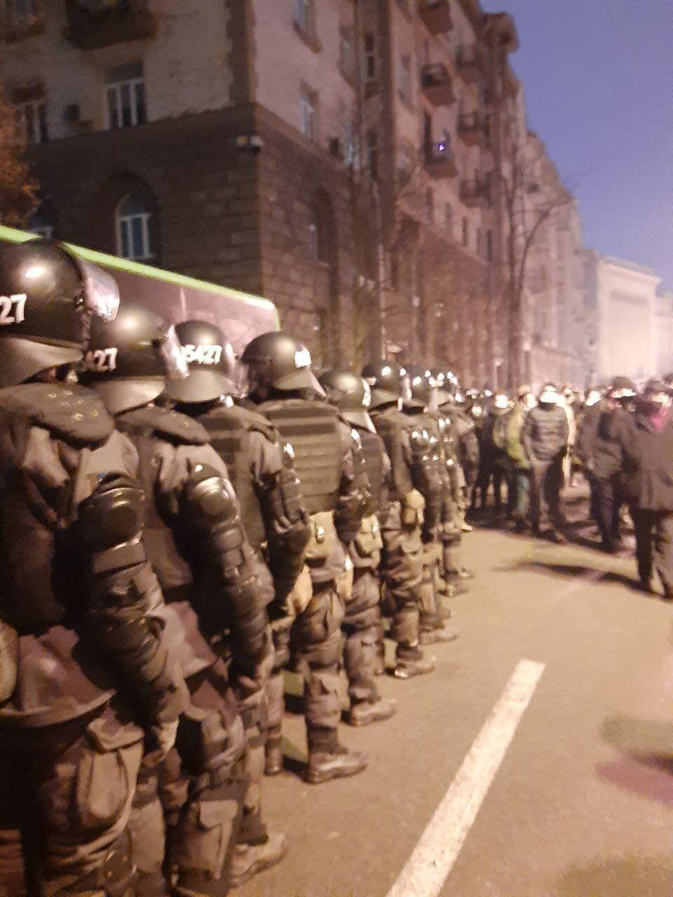 Правоохранители в Киеве