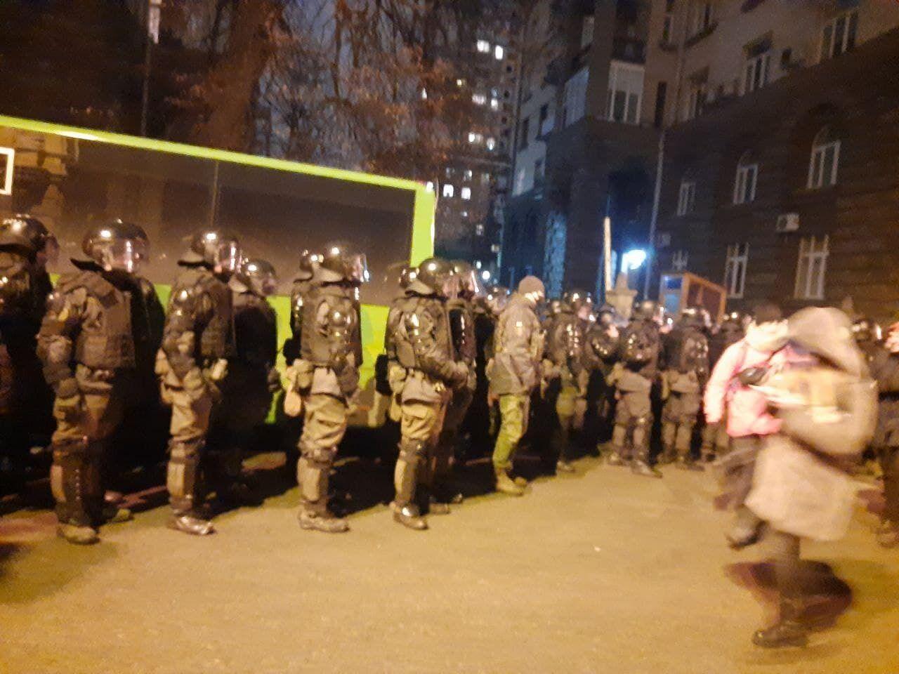 Протест у Києві через вирок Стерненку