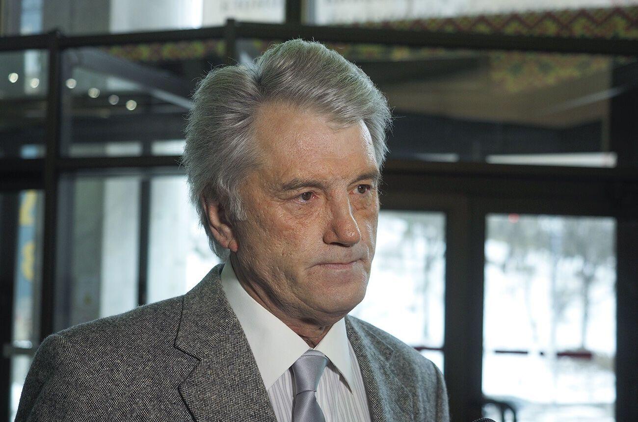 Виктор Ющенко отмечает день рождение - 67 лет.