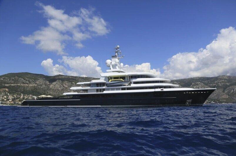 Новая яхта Романа Абрамовича