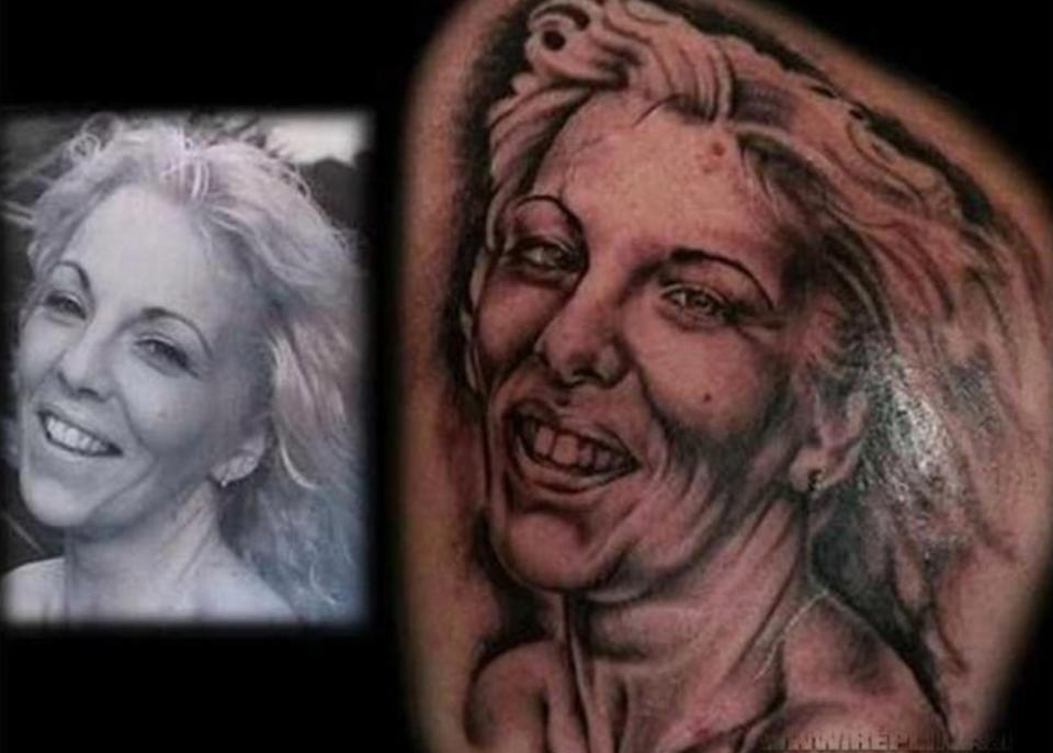 Мужчины доказывают свою любовь татуировками любимой – иногда получается картина, которой можно испугаться ночью.