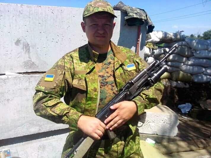 Участник войны на Донбассе Игорь Солонинко