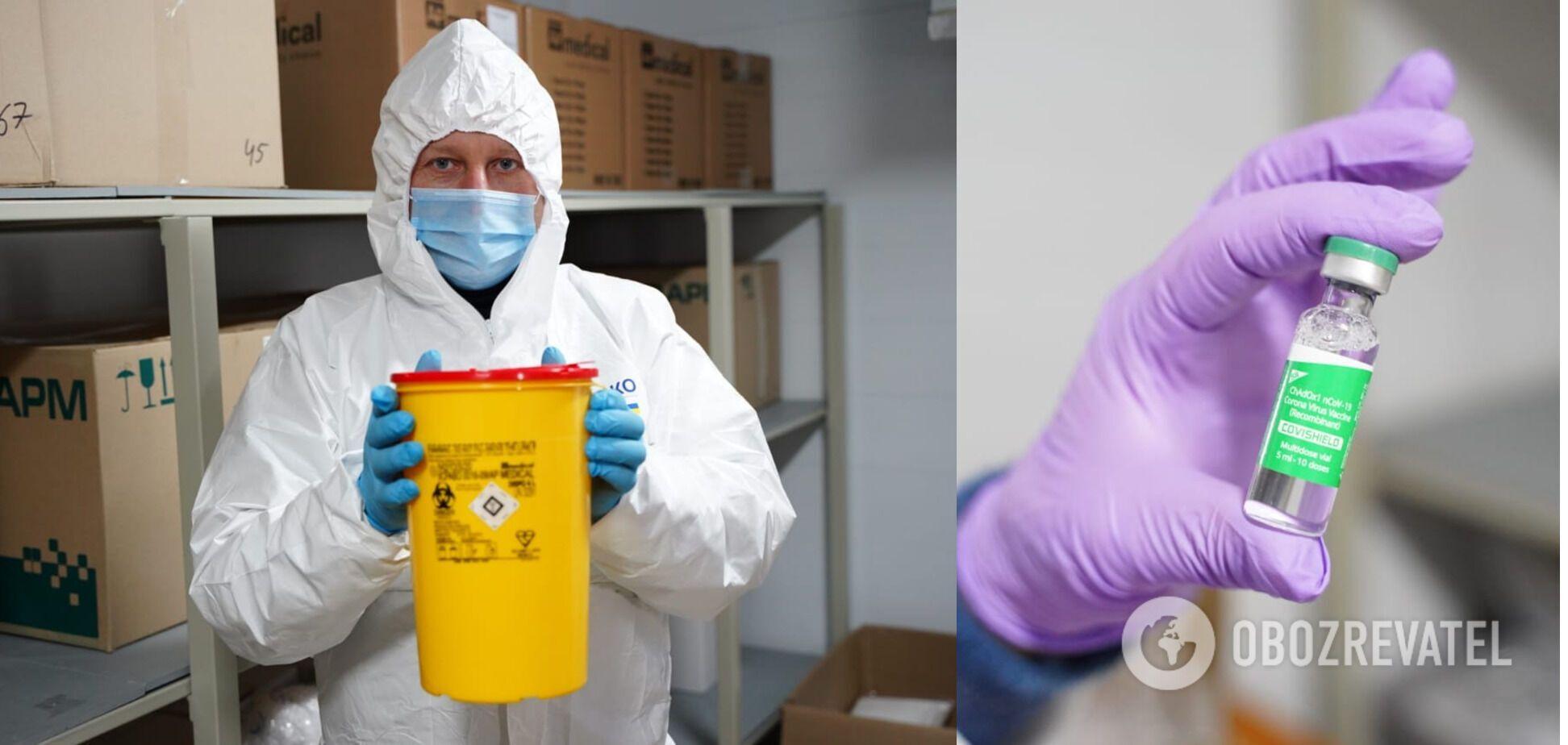 Украинцев вакцинируют препаратом от AstraZeneca