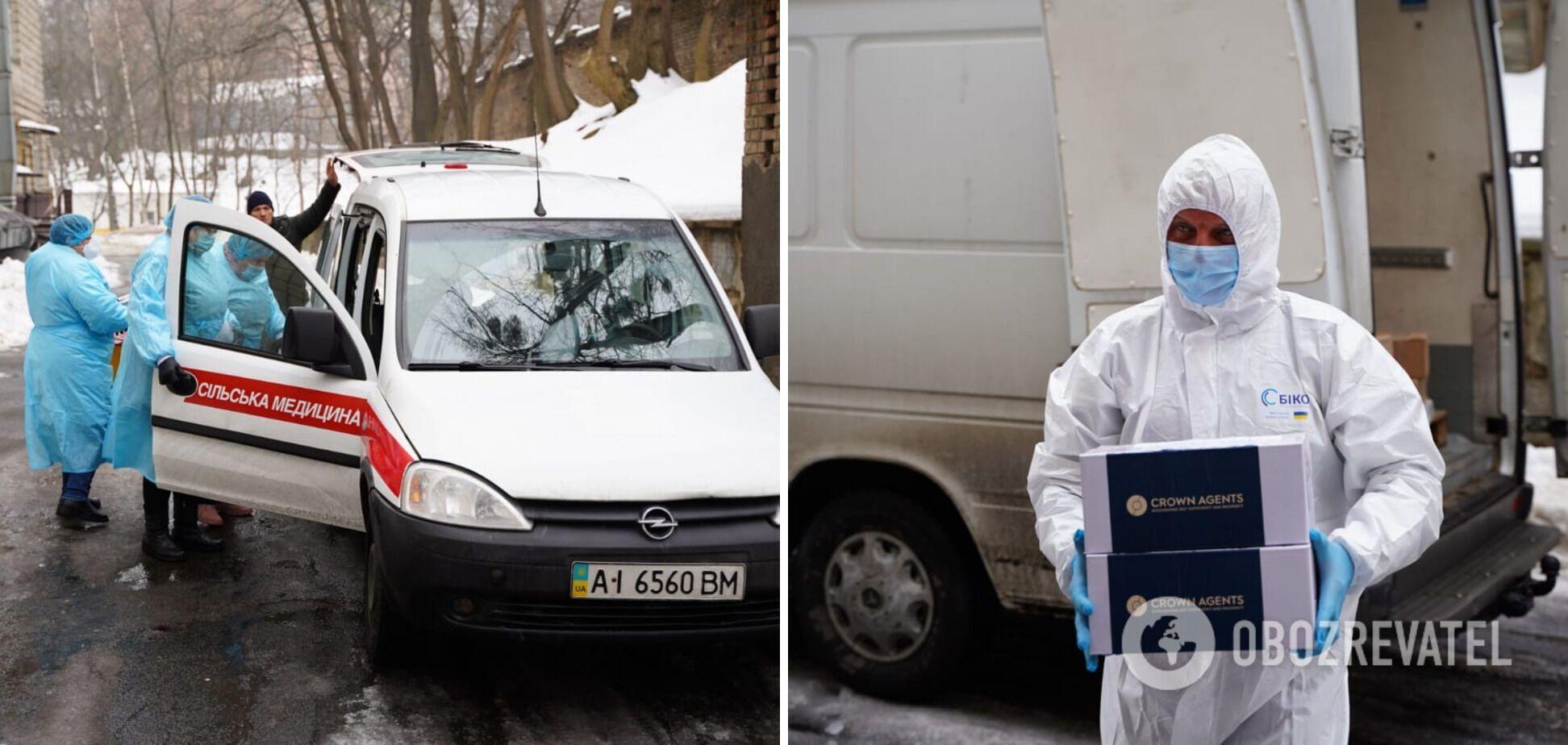 Киевская область получила 16 600 доз вакцины AstraZeneca
