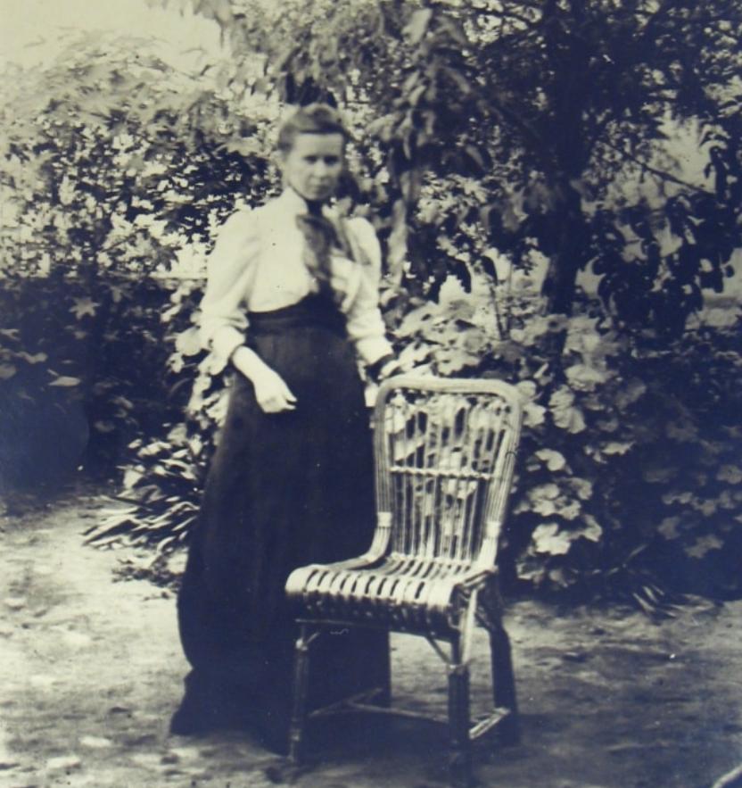 Леся Українка в Єгипті, 1910 рік.