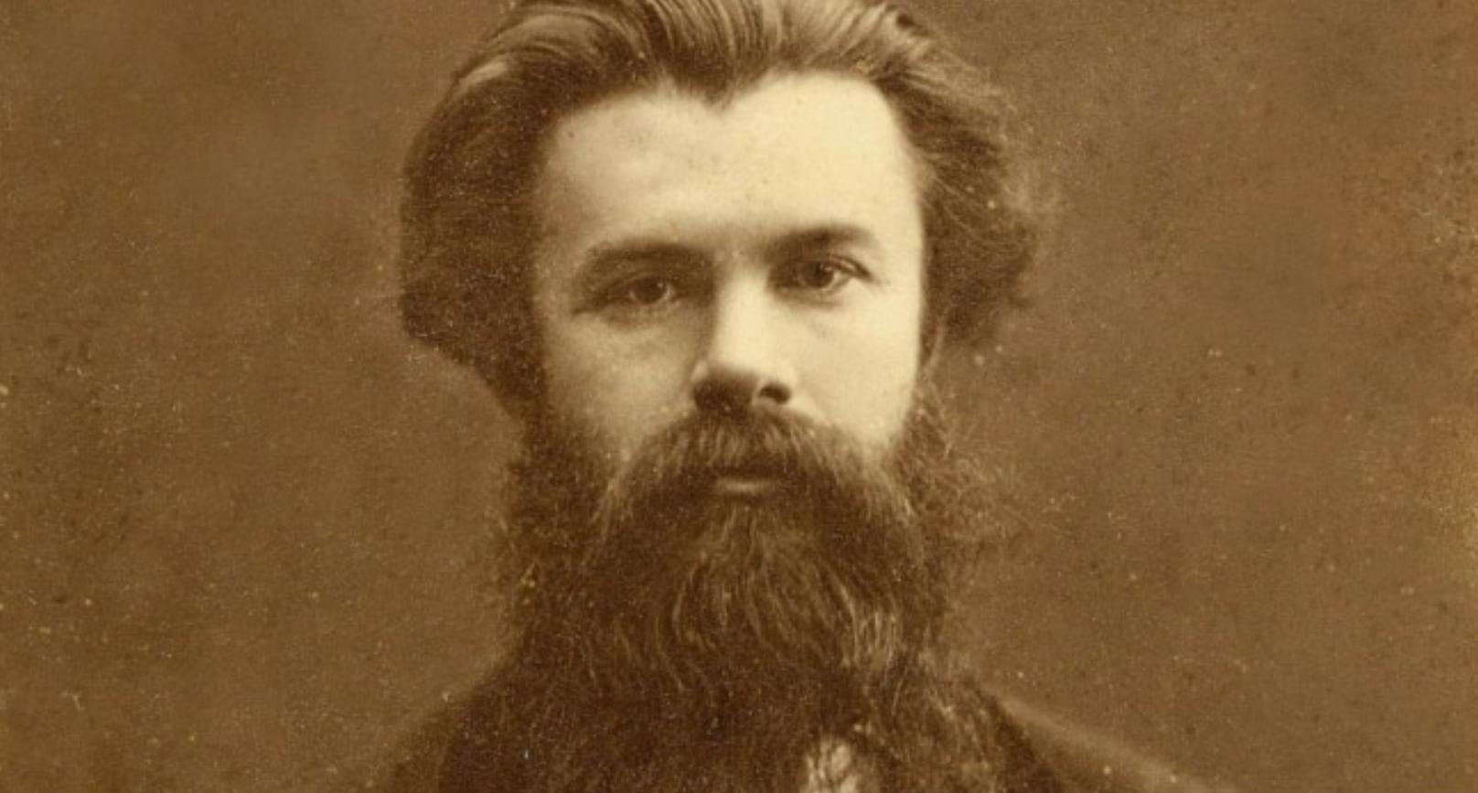 """Біографи Лесі Українки пишуть, що вона вважала свого дядька Михайла Драгоманова """"ідеалом"""". Фото 1870-х років."""
