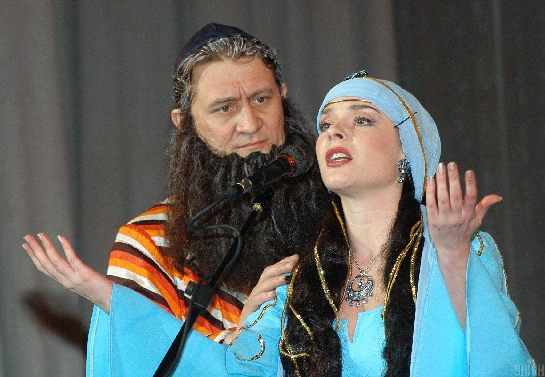 Пуримшпіль – вистава, у якій розігрують біблійний епізод про порятунок євреїв