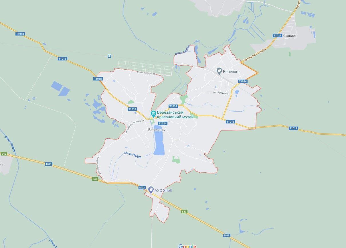 Событие произошло в поселке Березань.