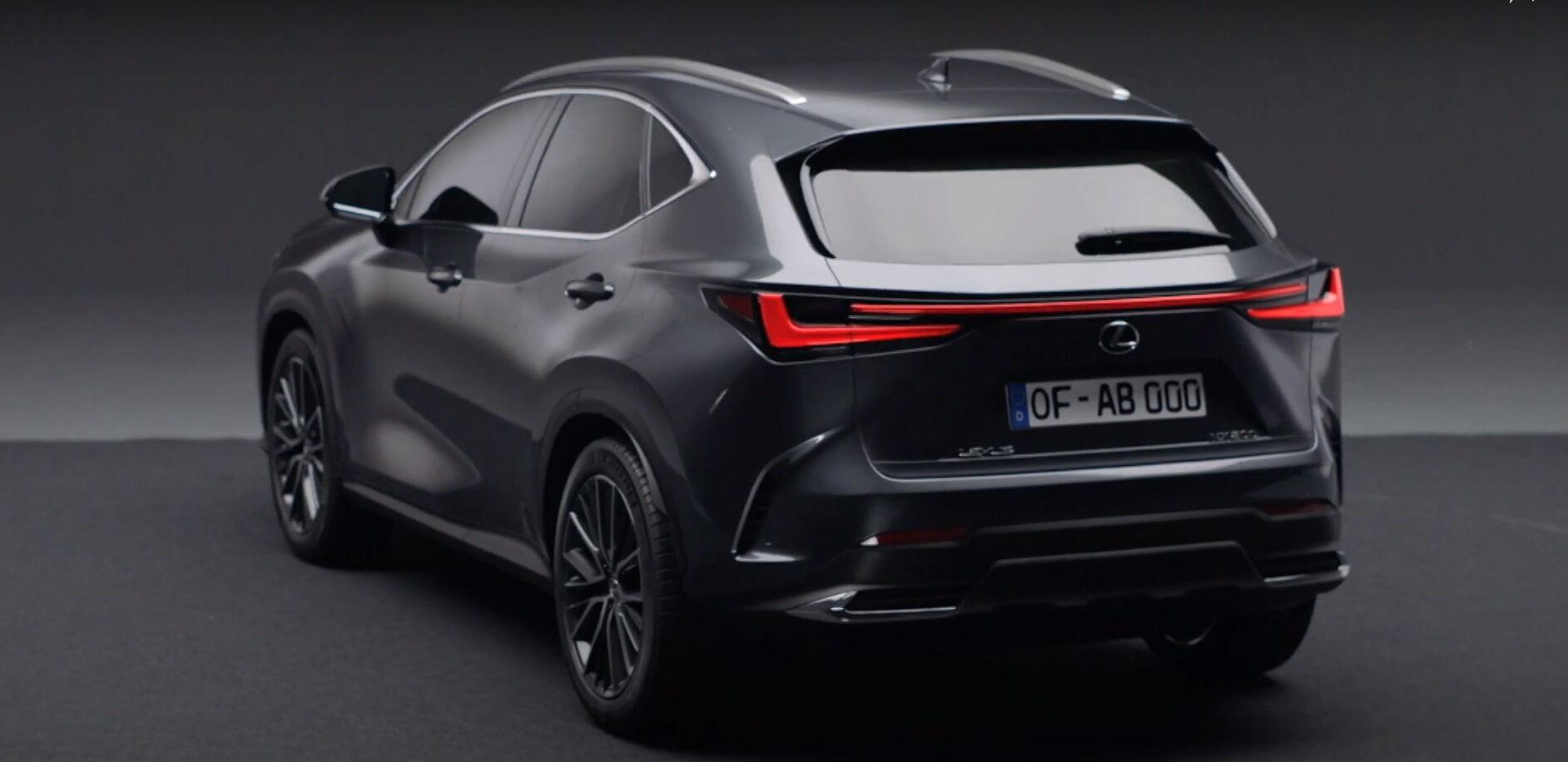 Очікується, що новий Lexus NX отримає гібридну силову установку PHEV