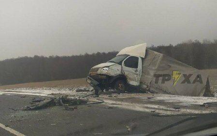 Авария под Харьковом
