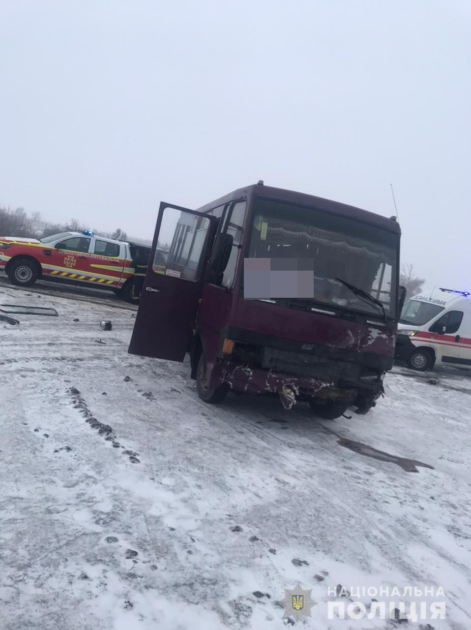 """Водій і пасажири """"Еталона"""" не постраждали"""