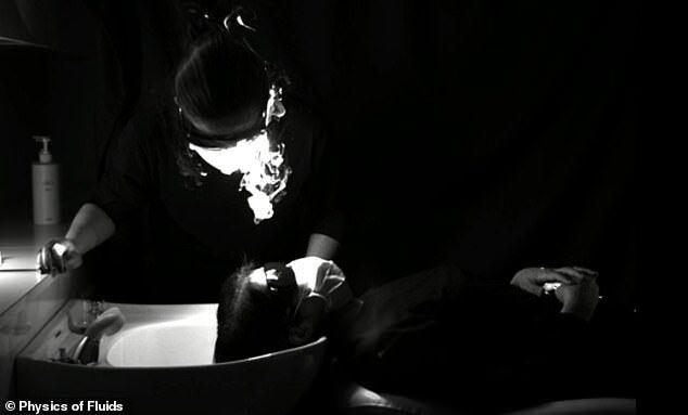 Передача вируса во время мытья головы