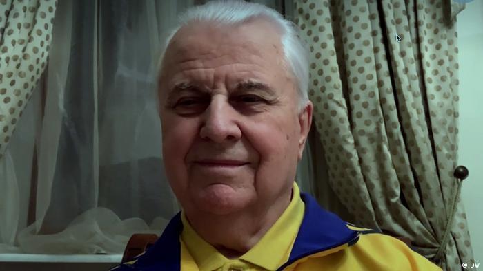 Леонід Кравчук на онлайн-інтерв'ю