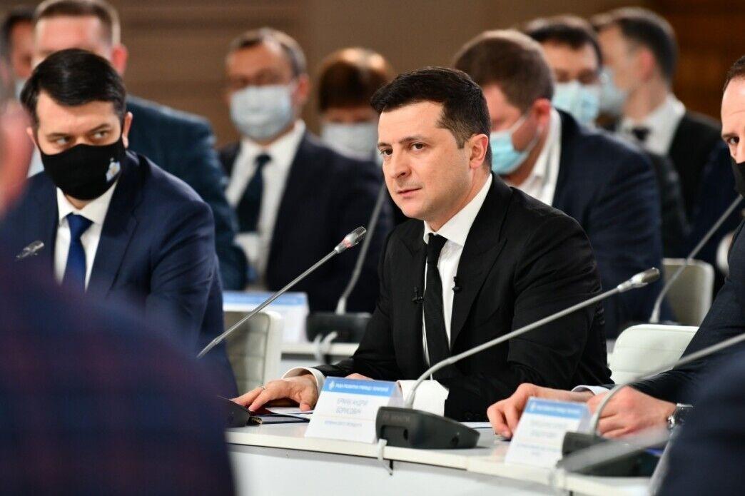 """Президент на Всеукраинском форуме """"Украина 30"""""""
