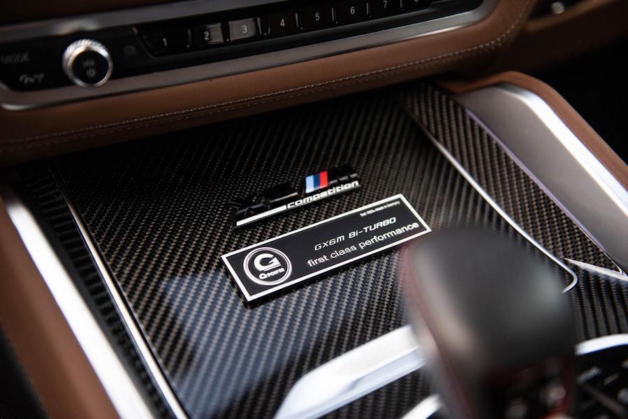 Салон BMW X6 оздобили натуральною шкірою