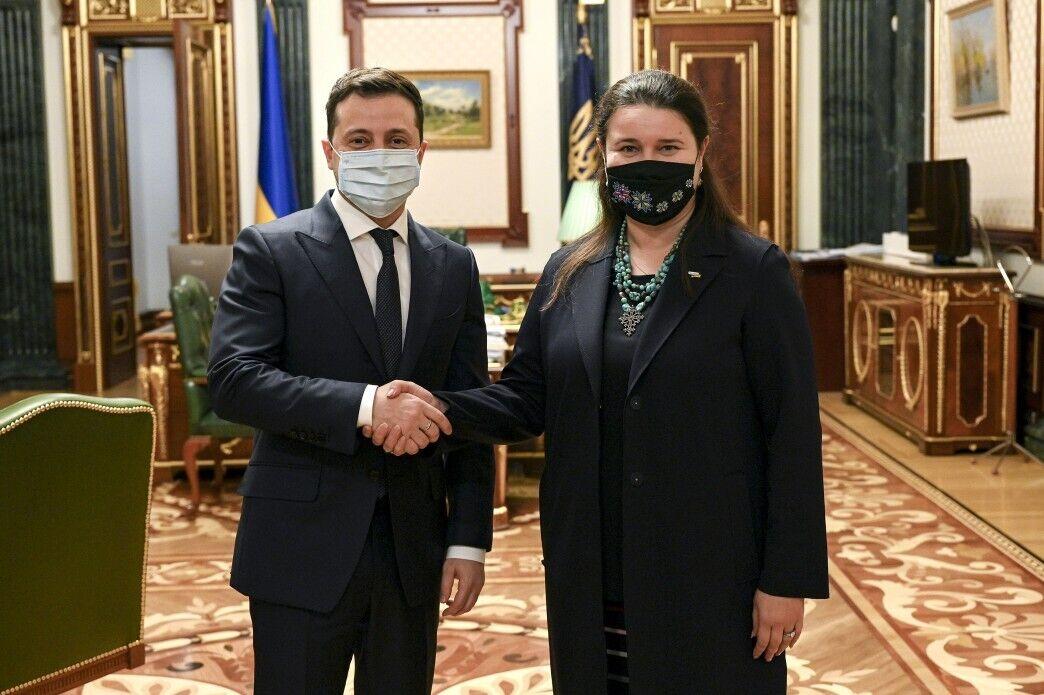 Зеленський і Маркарова