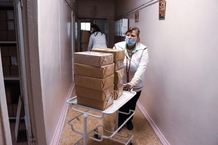 Доставка вакцини в Херсон
