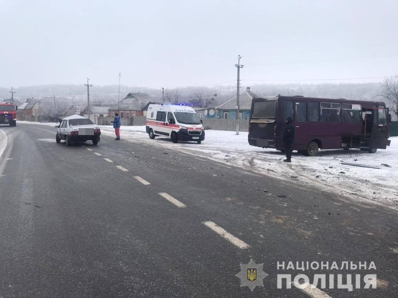 ДТП на трасі Харків – Охтирка