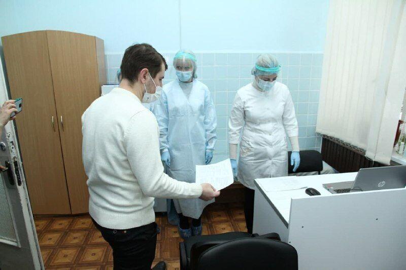Вакцинація в Полтавській області
