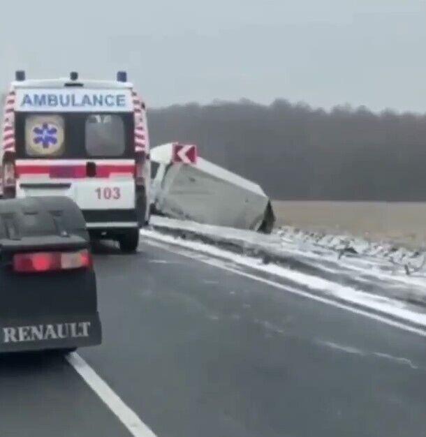 Авария произошла на трассе Змиев – Мерефа