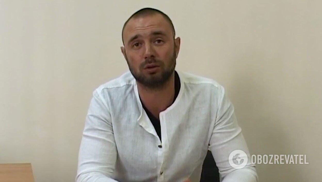 Сергей Щербич на интервью 2015 года