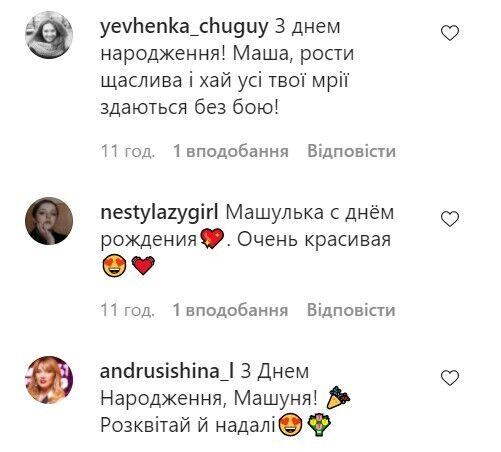 Комментарии фанатов