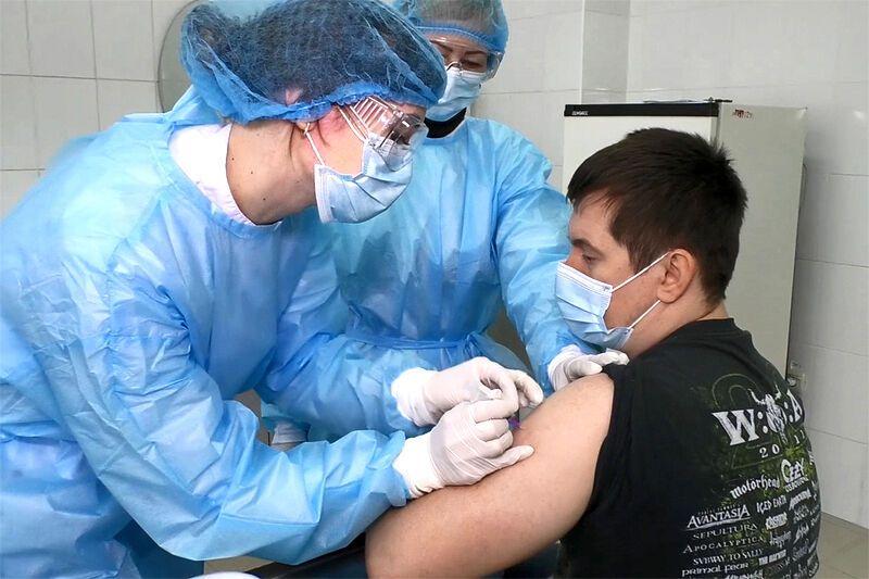 Перший вакцинований на Сумщині