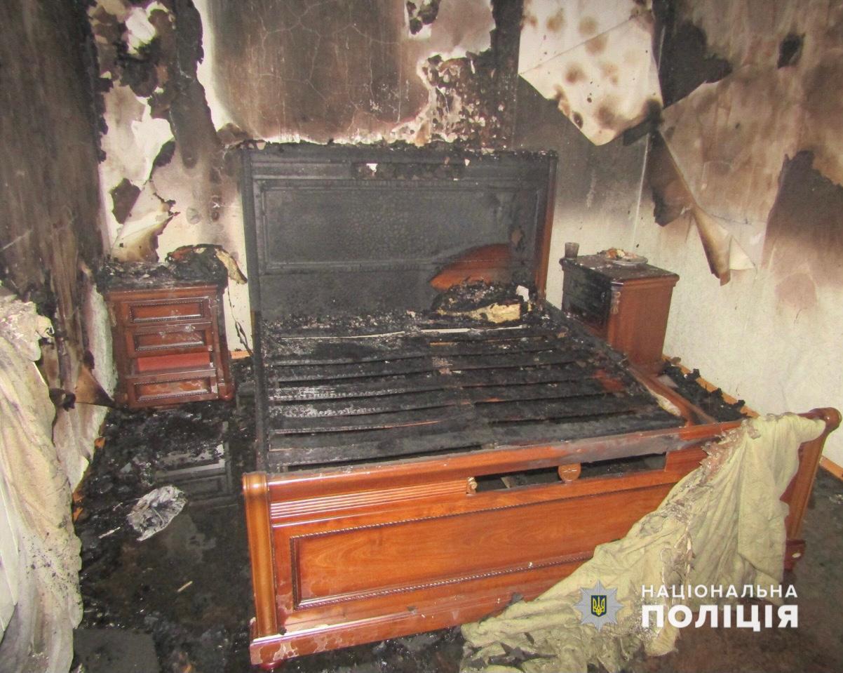 Пожежа в готелі в Броварах.