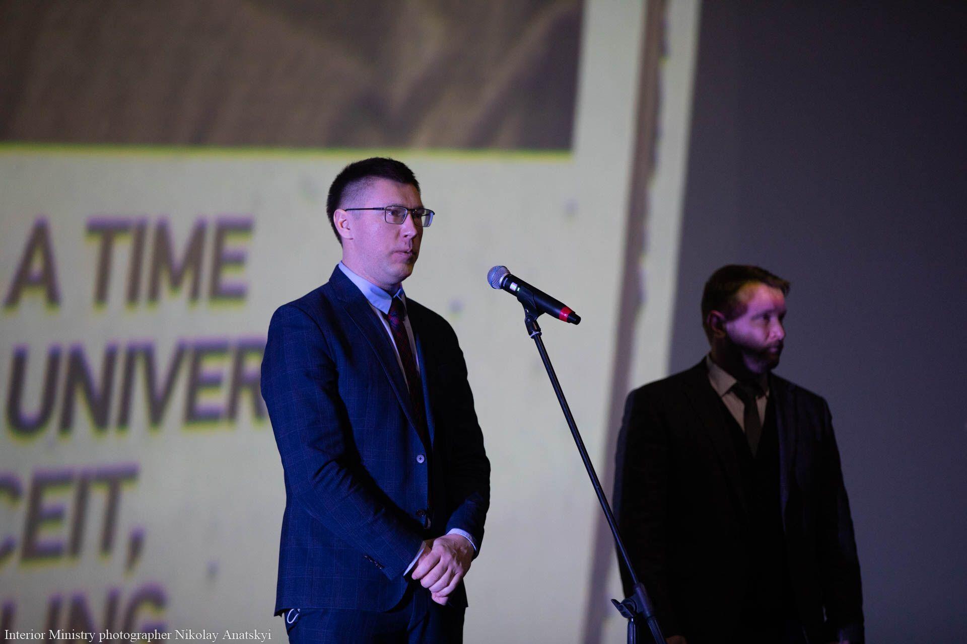 Тарас Шевченко выступил на презентации фильма