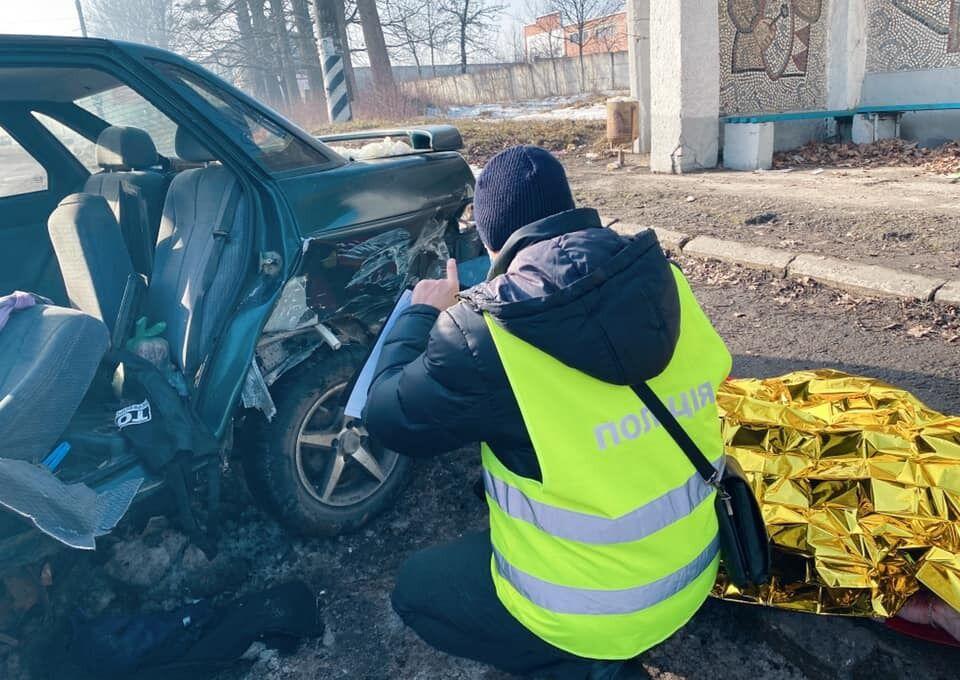 В аварії загинули дві людини
