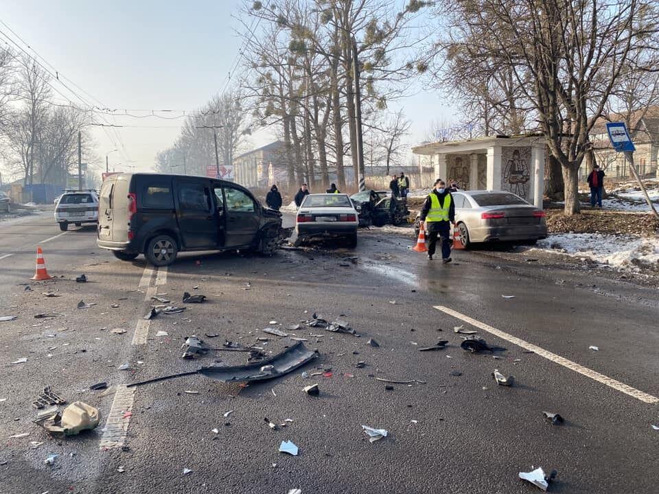 Смертельна ДТП біля Івано-Франківська