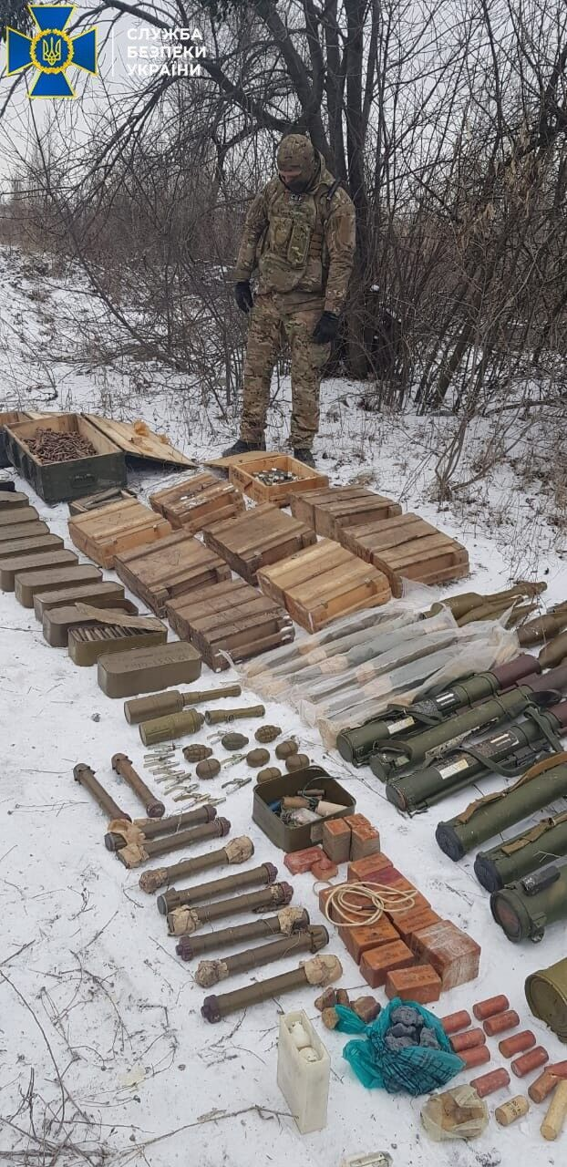 Схрон террористов на Луганщине