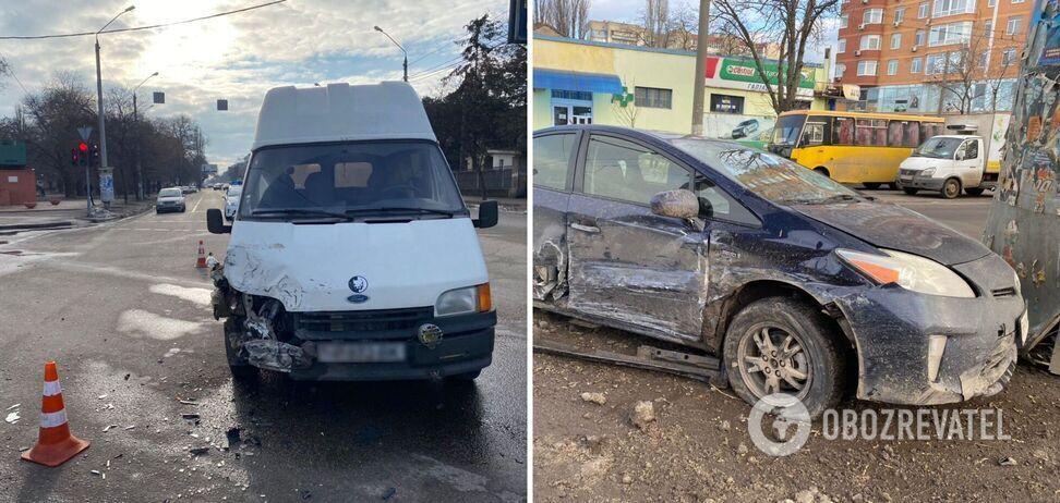 Внаслідок аварії постраждало двоє дітей.