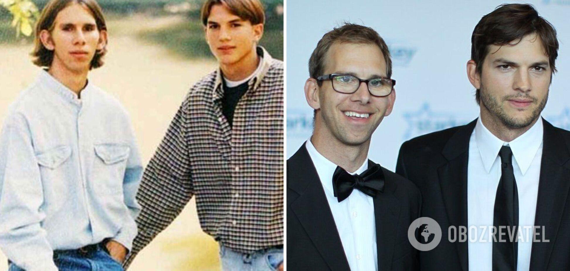 Актор Ештон Кутчер має брата-близнюка.