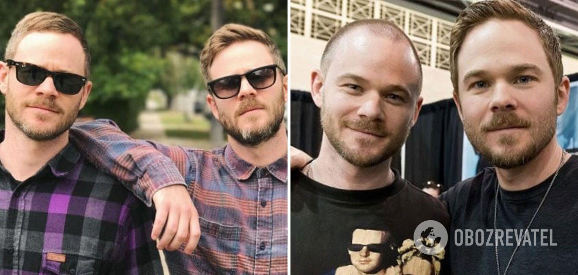Шон Ешмор має брата близнюка.