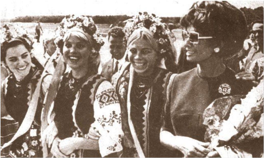 Софи Лорен в Украине