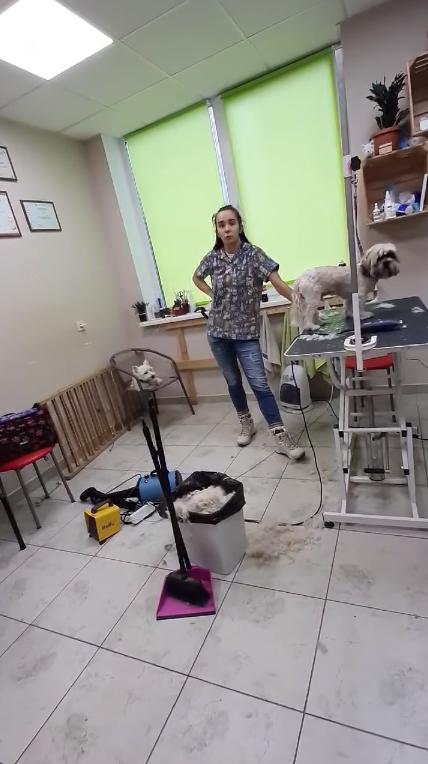 Співробітниця салону, яка відмовилася використовувати українську мову