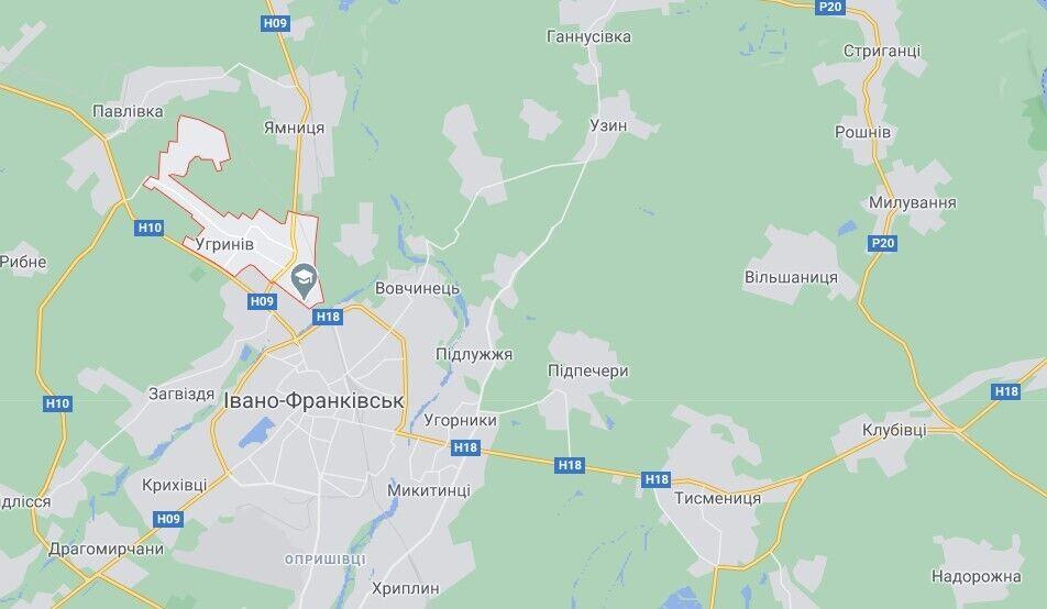 ДТП трапилася приблизно о 07:40 в Угрині