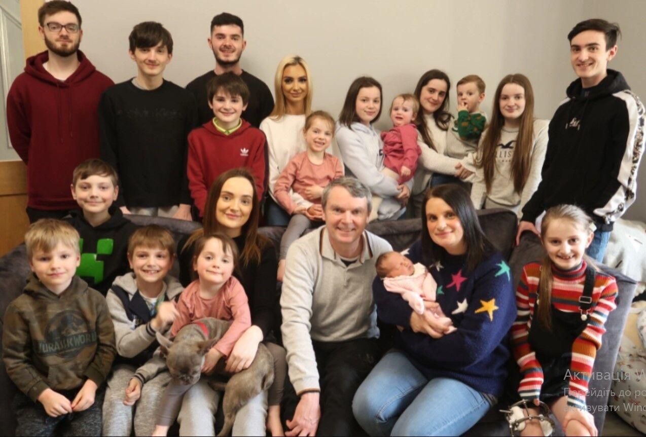 Женщина из Британии родила 21 ребенка и поделилась подробностями семейной жизни